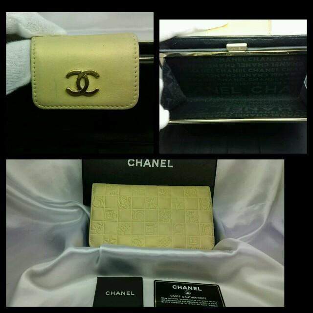 CHANEL(シャネル)の正規品  CHANEL   長財布 レディースのファッション小物(財布)の商品写真