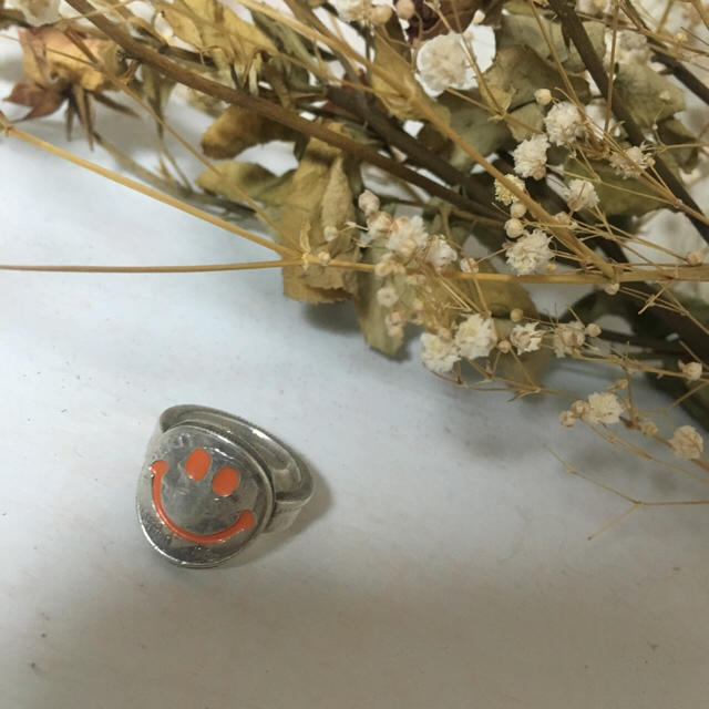 BEAMS(ビームス)のota スマイル コイン リング 約19号 レディースのアクセサリー(リング(指輪))の商品写真