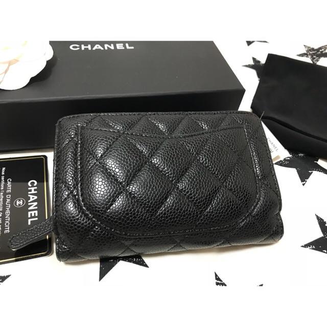 CHANEL(シャネル)のCHANEL シャネル キャビア 中財布 レディースのファッション小物(財布)の商品写真