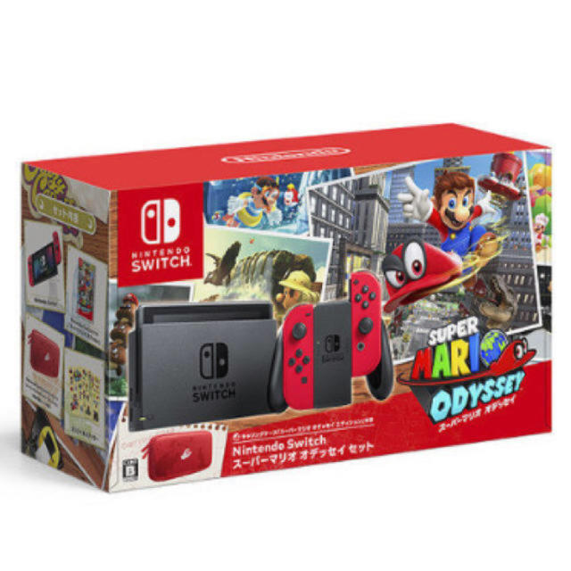 Nintendo Switch(ニンテンドースイッチ)の任天堂スイッチスーパーマリオオデッセイセット 新品 未使用 未開封品です。 エンタメ/ホビーのテレビゲーム(家庭用ゲーム本体)の商品写真
