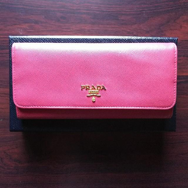PRADA(プラダ)のプラダ長財布セット レディースのファッション小物(財布)の商品写真