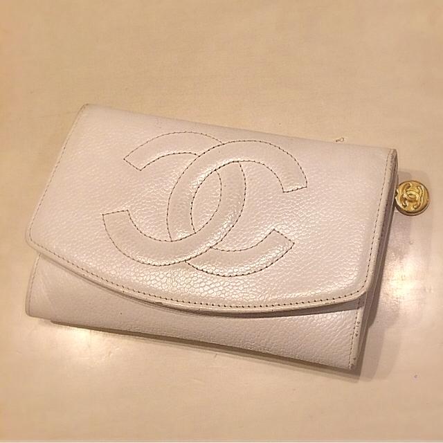 CHANEL(シャネル)の■■正規品本物■CHANEL♡シャネルのデニム&キャビアスキンお財布2個セット■ レディースのファッション小物(財布)の商品写真