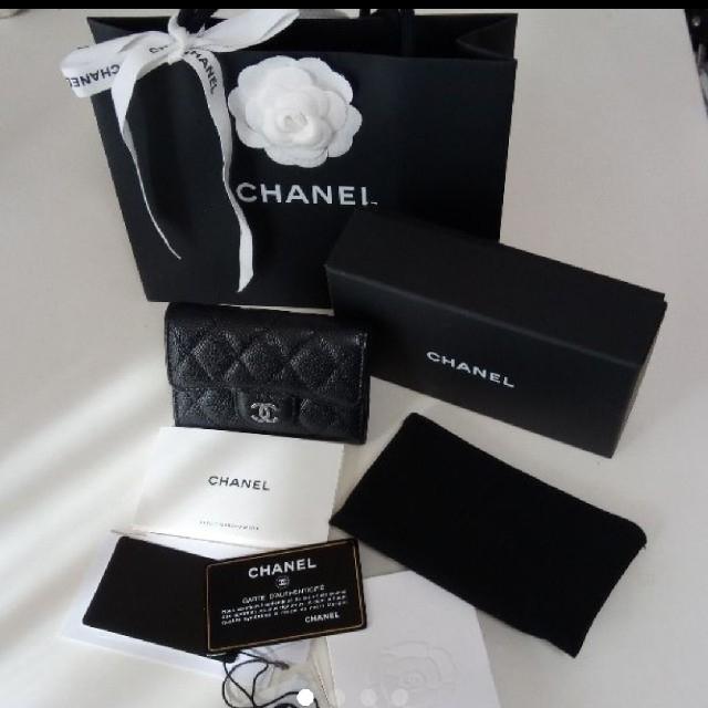 CHANEL(シャネル)のシャネル ミニ財布 カードケース chanel 美品 レディースのファッション小物(財布)の商品写真
