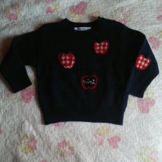 ファミリア(familiar)のお値下げ☆綺麗☆女の子セーター(ニット)