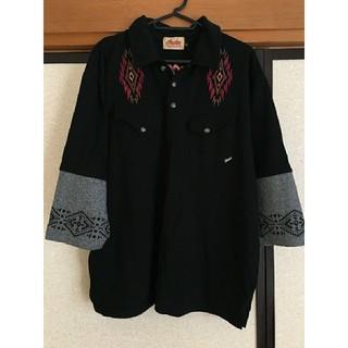 インディアン(Indian)のIndian motocycle 7分丈シャツ ※月あかり様専用(Tシャツ/カットソー(七分/長袖))
