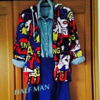 ハーフマン(HALFMAN)のHALF MAN パーカー(パーカー)