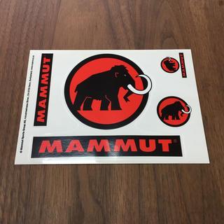 マムート(Mammut)のMAMMUTのステッカー 未使用品(登山用品)