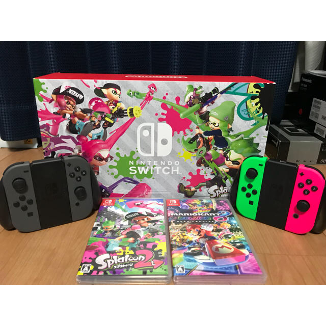 Nintendo Switch(ニンテンドースイッチ)のニンテンドースイッチ エンタメ/ホビーのテレビゲーム(家庭用ゲーム本体)の商品写真
