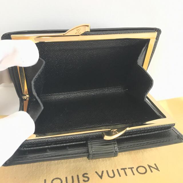 LOUIS VUITTON(ルイヴィトン)のルイヴィトン  ポルトフォイユ  ヴィエノワ  ノワール  長財布  正規品 レディースのファッション小物(財布)の商品写真