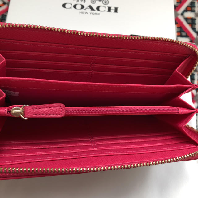 COACH(コーチ)のコーチ 長財布 ❤️美品❤️ pvcレザー ローズピンク レディースのファッション小物(財布)の商品写真