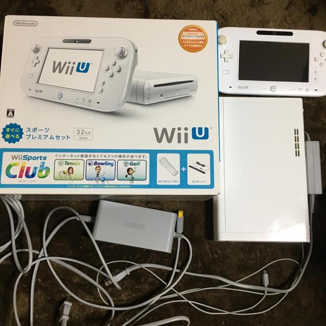 WiiU本体とスプラトゥーンソフトのセット エンタメ/ホビーのテレビゲーム(家庭用ゲーム本体)の商品写真