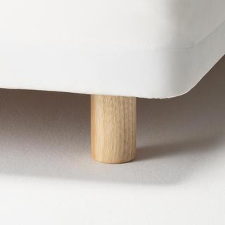 ムジルシリョウヒン(MUJI (無印良品))のMUJI 無印良品  マットレス用脚12㎝(脚付きマットレスベッド)