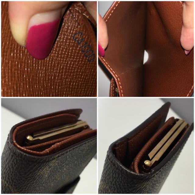 LOUIS VUITTON(ルイヴィトン)のヴィトン⭐がま口財布 ポルトフォイユ ヴィエノワ⭐ レディースのファッション小物(財布)の商品写真