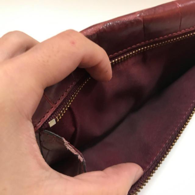 COACH(コーチ)のlunamoon様専用☆コーチ クロコ型押し 本革 長財布 レディースのファッション小物(財布)の商品写真