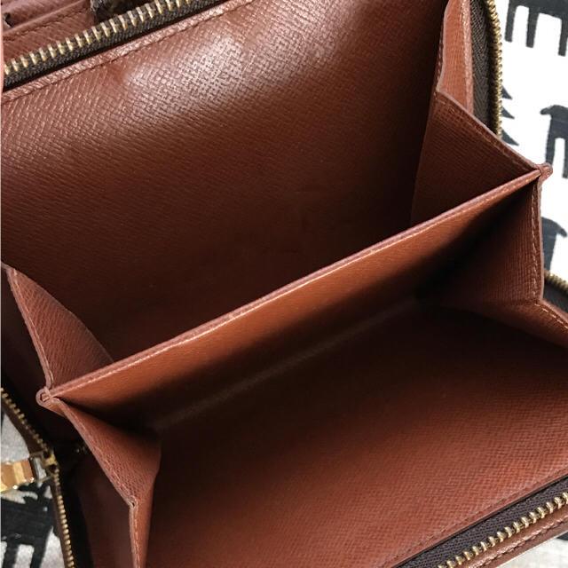 LOUIS VUITTON(ルイヴィトン)の確実正規品✳︎ルイヴィトンモノグラム✳︎パピエジップ2つ折財布✳︎美品✳︎ レディースのファッション小物(財布)の商品写真