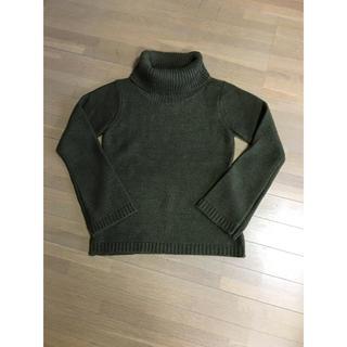 ムジルシリョウヒン(MUJI (無印良品))の新品未使用 タートルネックセーター(ニット/セーター)