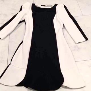 ザラ(ZARA)のZARA ワンピース ドレス(ミニワンピース)