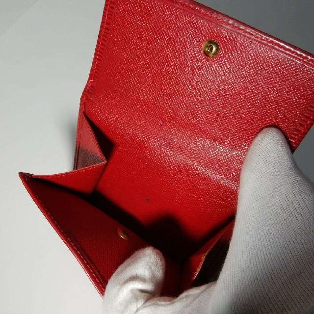 LOUIS VUITTON(ルイヴィトン)の★ルイヴィトンエピ赤2折り財布1263★ レディースのファッション小物(財布)の商品写真