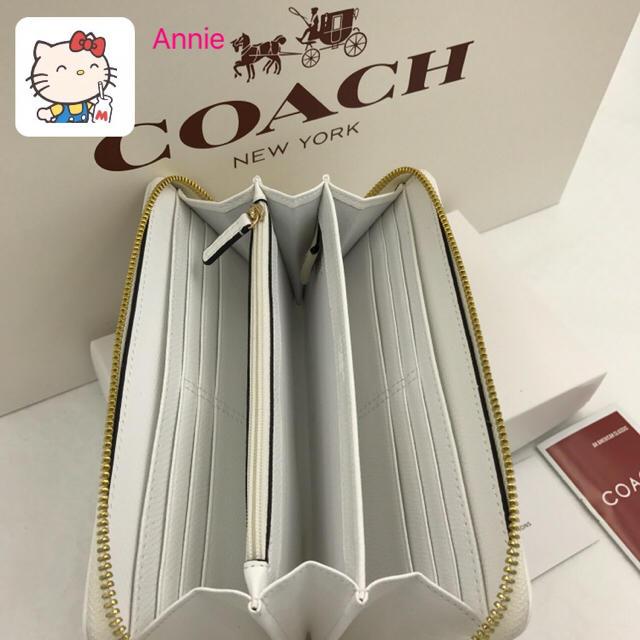 COACH(コーチ)のCOACH コーチ 長財布 新品 正規アウトレット 未使用品 レディースのファッション小物(財布)の商品写真