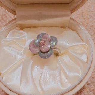アナスイ(ANNA SUI)のアナスイ フラワーラメリング(リング(指輪))