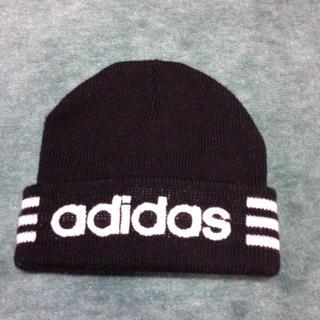 アディダス(adidas)のニット帽♡(ニット帽/ビーニー)