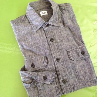 ユニクロ(UNIQLO)の中古【ユニクロ長袖綿Yシャツ S】(シャツ)