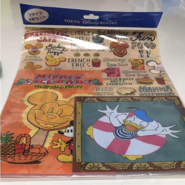 Disney(ディズニー)の新品 未使用 ♡ ディズニー ポップコーン ペンケース & クリアファイル  エンタメ/ホビーのアニメグッズ(クリアファイル)の商品写真