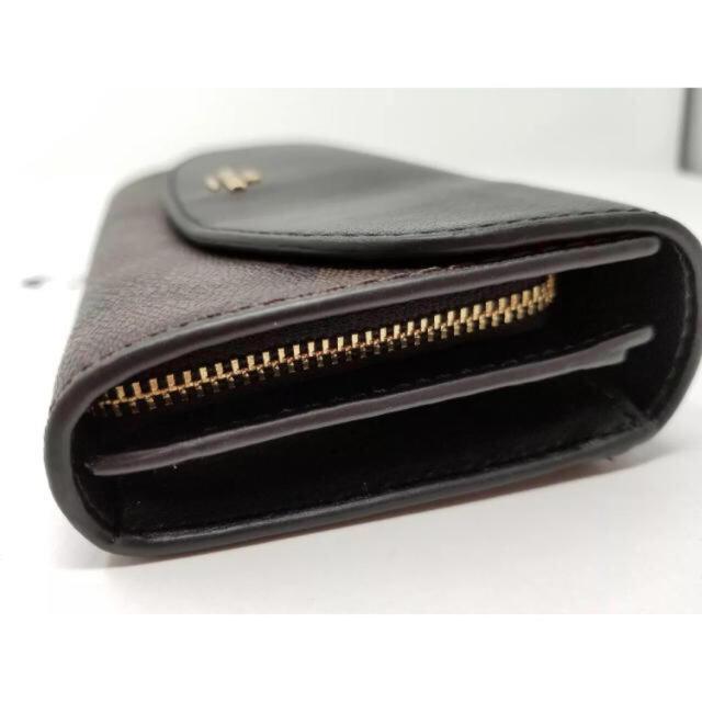 COACH(コーチ)の【新品】COACH☆人気の長財布 ブラック レディースのファッション小物(財布)の商品写真