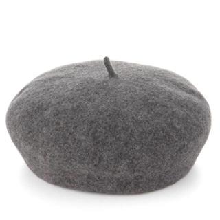 ムジルシリョウヒン(MUJI (無印良品))のcy 様 専用 無印 ウールフェルトベレー ベレー帽(ハンチング/ベレー帽)
