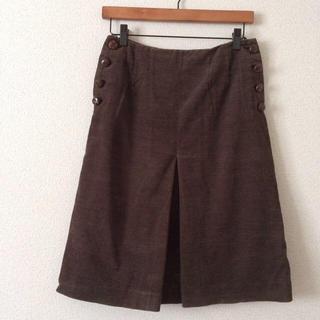 ミナペルホネン(mina perhonen)のsally scott スカート(ひざ丈スカート)