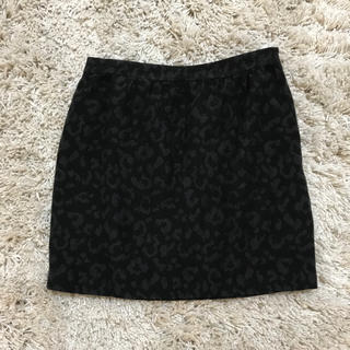 プラージュ(Plage)のplage レオパード柄スカート(ひざ丈スカート)