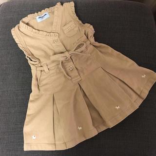 ポンポネット(pom ponette)のポンポネット ジャンパースカート 90(ワンピース)