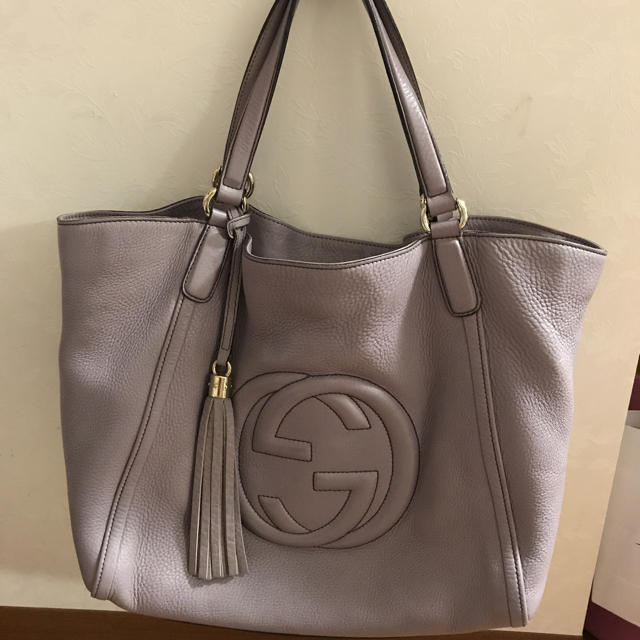 3e60b925afd9 Gucci - GUCCI♡グッチ♡ソーホーレザーバッグの通販 by まゆ's shop ...