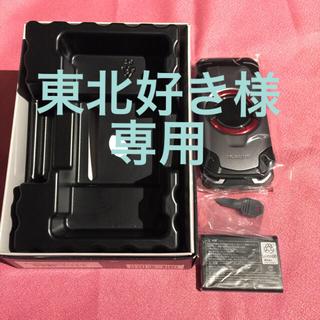 キョウセラ(京セラ)の新品同様auガラホ KYF33 torque X01 シルバー(携帯電話本体)