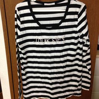 ローリーズファーム(LOWRYS FARM)のLOWRYS FARM ボーダーロンT(Tシャツ(長袖/七分))