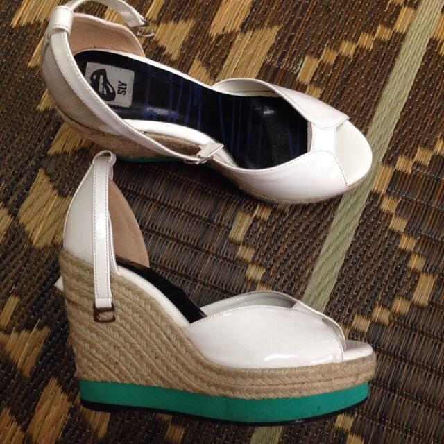 SLY(スライ)のSLY ウエッジソール サンダル レディースの靴/シューズ(サンダル)の商品写真
