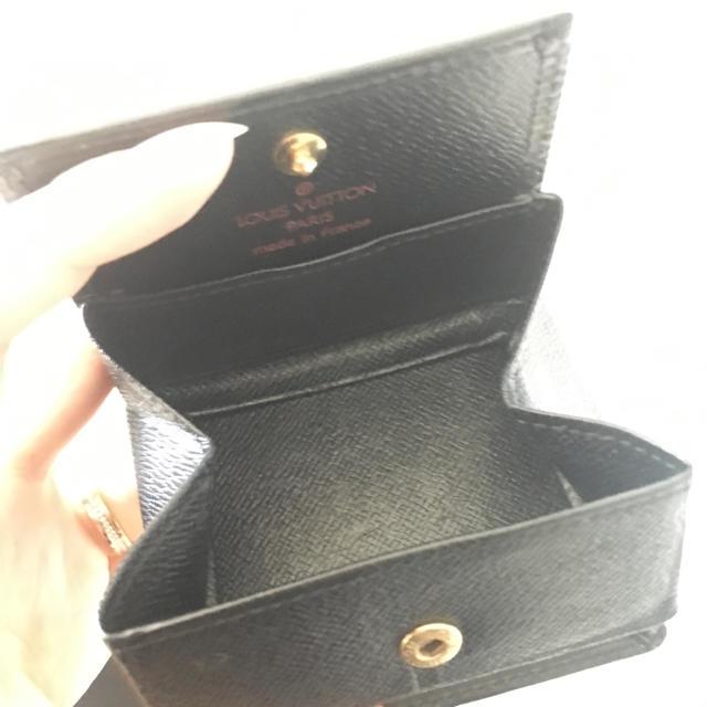 LOUIS VUITTON(ルイヴィトン)のコインケース ブラック新品 メンズのファッション小物(コインケース/小銭入れ)の商品写真