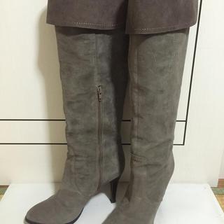 ダイアナ(DIANA)のDIANA スエードロングブーツ 26.0(ブーツ)
