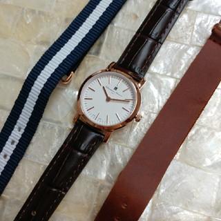 サルバトーレマーラ(Salvatore Marra)の☆新品 SalvatoreMarra SM17151-PGWH/1レディス腕時計(腕時計)