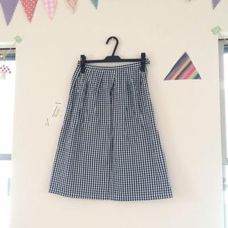 ドゥファミリー(DO!FAMILY)のドゥファミリー ギンガムチェックスカート(ひざ丈スカート)