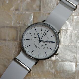 サルバトーレマーラ(Salvatore Marra)の☆新品 SalvatoreMarra SM15117-SSWHBL男女兼用腕時計(腕時計)