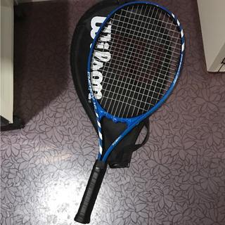 ウィルソン(wilson)のテニスラケット ウィルソン カバー付き(ラケット)