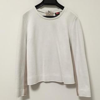 ダブルスタンダードクロージング(DOUBLE STANDARD CLOTHING)のボンディングスエットバイカラートップス(トレーナー/スウェット)