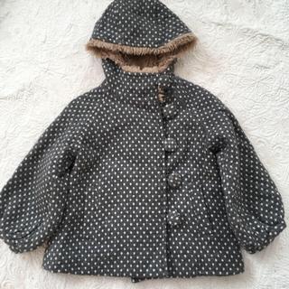 ニードルワークスーン(NEEDLE WORK SOON)の専用  ニードル 水玉コート 100 & ニードル Tシャツ 110(コート)
