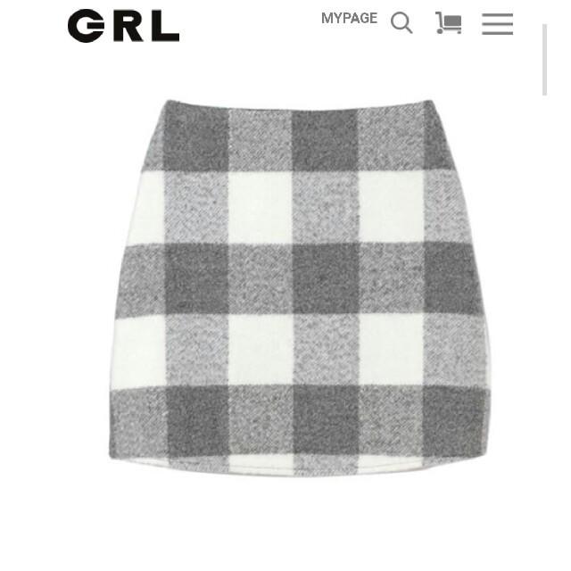 GRL(グレイル)のグレイル☆スカート レディースのスカート(ひざ丈スカート)の商品写真
