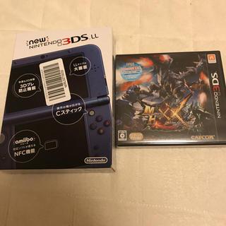 ニンテンドー3DS(ニンテンドー3DS)の3DSLL &モンスターハンターダブルクロス (新品)(家庭用ゲームソフト)