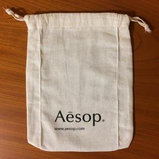 イソップ(Aesop)のAesop ショップ袋 巾着 イソップ コスメブランド(ショップ袋)