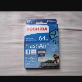トウシバ(東芝)のFlash air64GB(デジタル一眼)