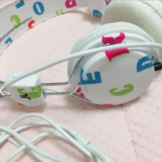 ウィーエスシー(WeSC)のヘッドフォン ♡WeSC headphones(ヘッドフォン/イヤフォン)