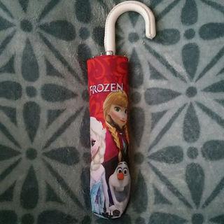 ディズニー(Disney)のmomoten☆様専用☆折り畳み傘☆アナと雪の女王☆晴雨兼用(傘)